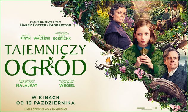 plakat z filmu tajemniczy ogród