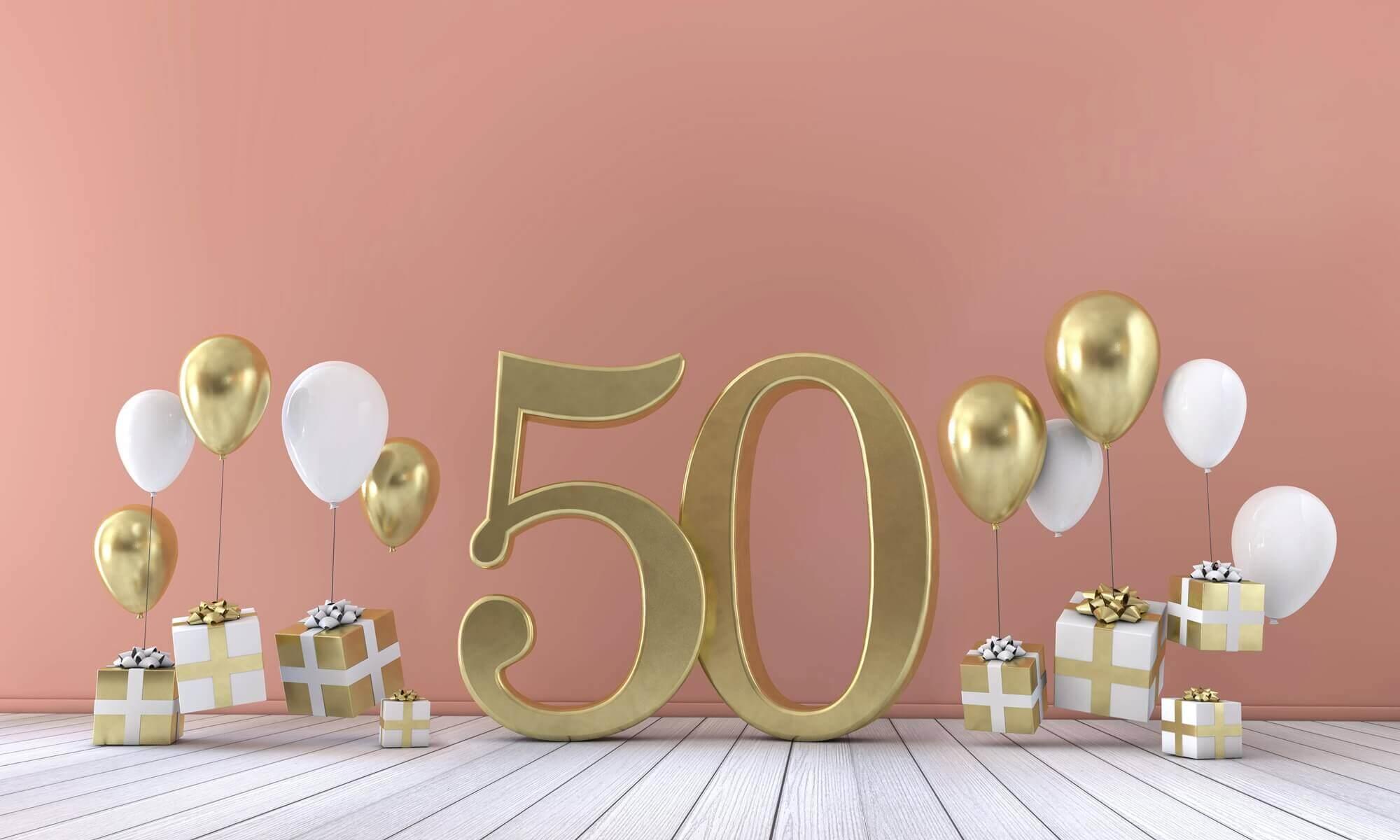 Zyczenia Na 50 Urodziny Gotowe Zyczenia Prezentmarzen Blog