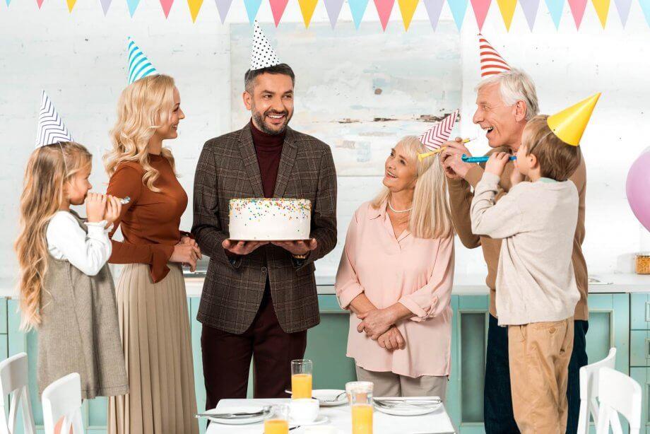 życzenia na40 urodziny rodzina składa mężczyźnie
