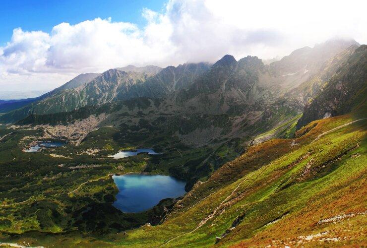 widok na góry, Zakopane