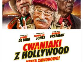 plakat z filmu cwaniaki z hollywood