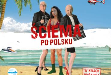 plakat z filmu ściema po polsku