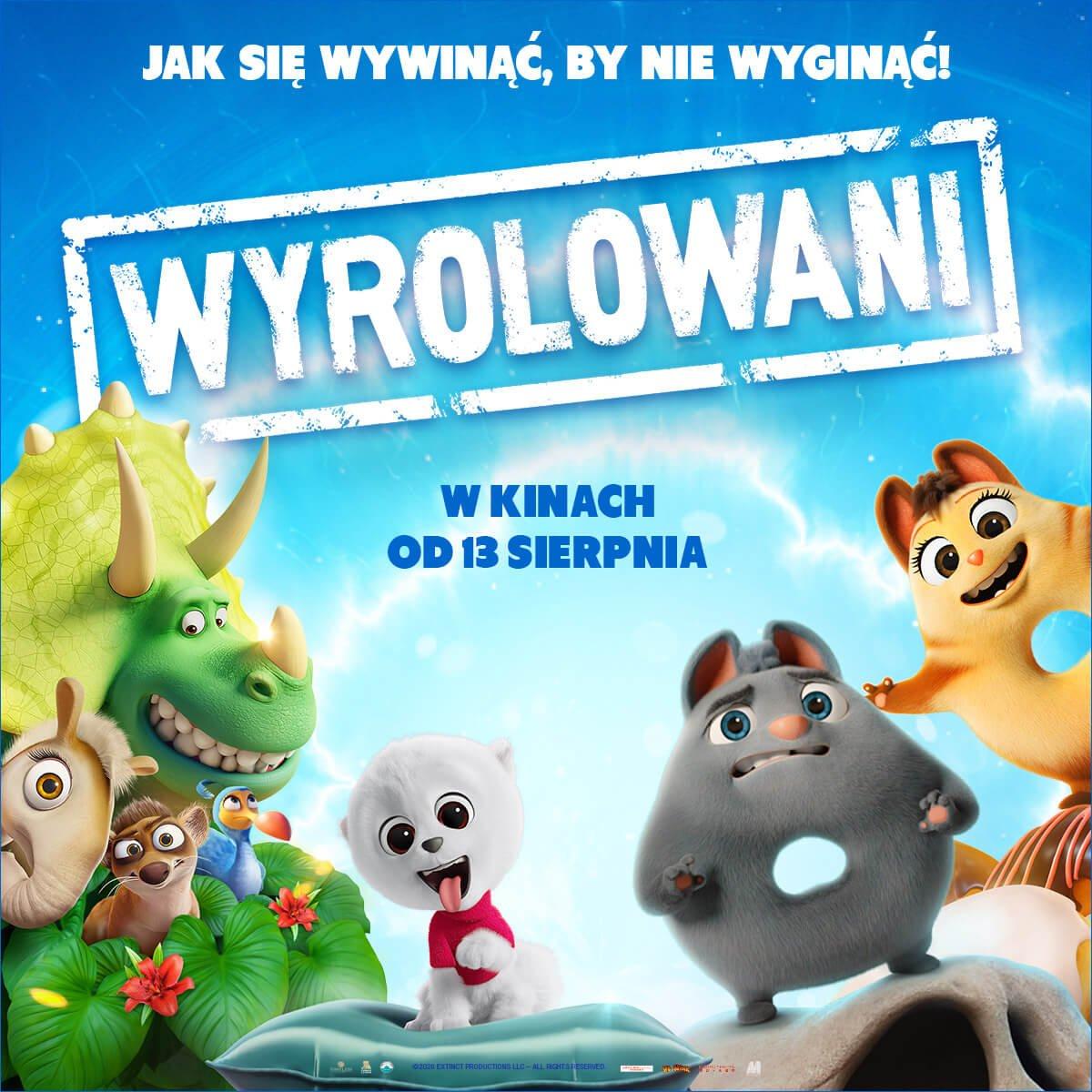 Plakat z filmu Wyrolowani