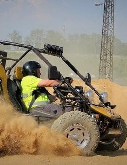 Jazda Buggy OFF ROAD
