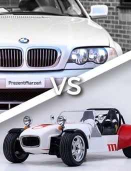 Jazda GKD vs BMW