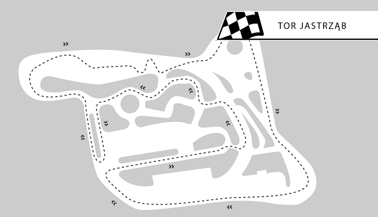 Tor Jastrząb - okolice Radomia