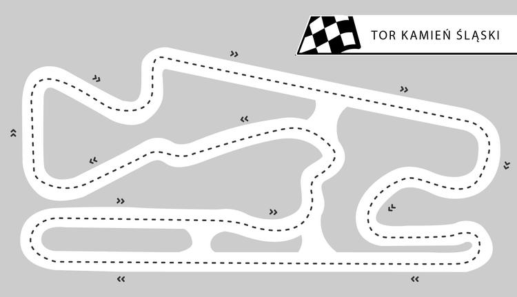 Tor Kamień Śląski - okolice Opola