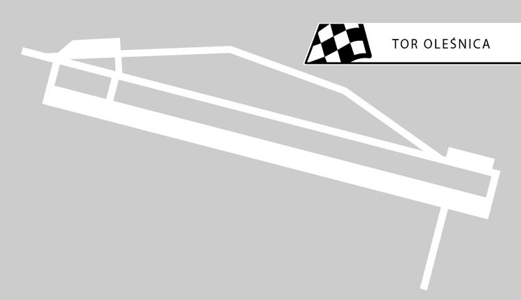 Tor Oleśnica - 35 km od Wrocławia