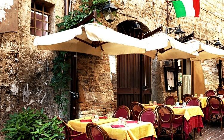 Kolacja We Włoskiej Restauracji Prezentmarzeń
