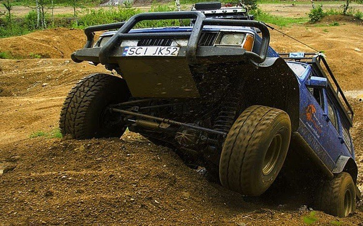amortyzatory off road