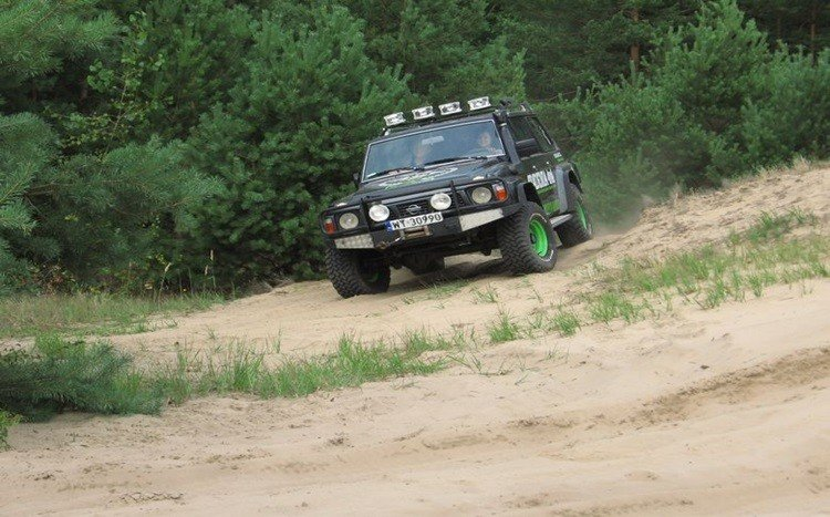 jazda off road